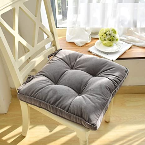 Amazon.com: HIGOGOGO Square Floor Pillow Cushion for Chair ...