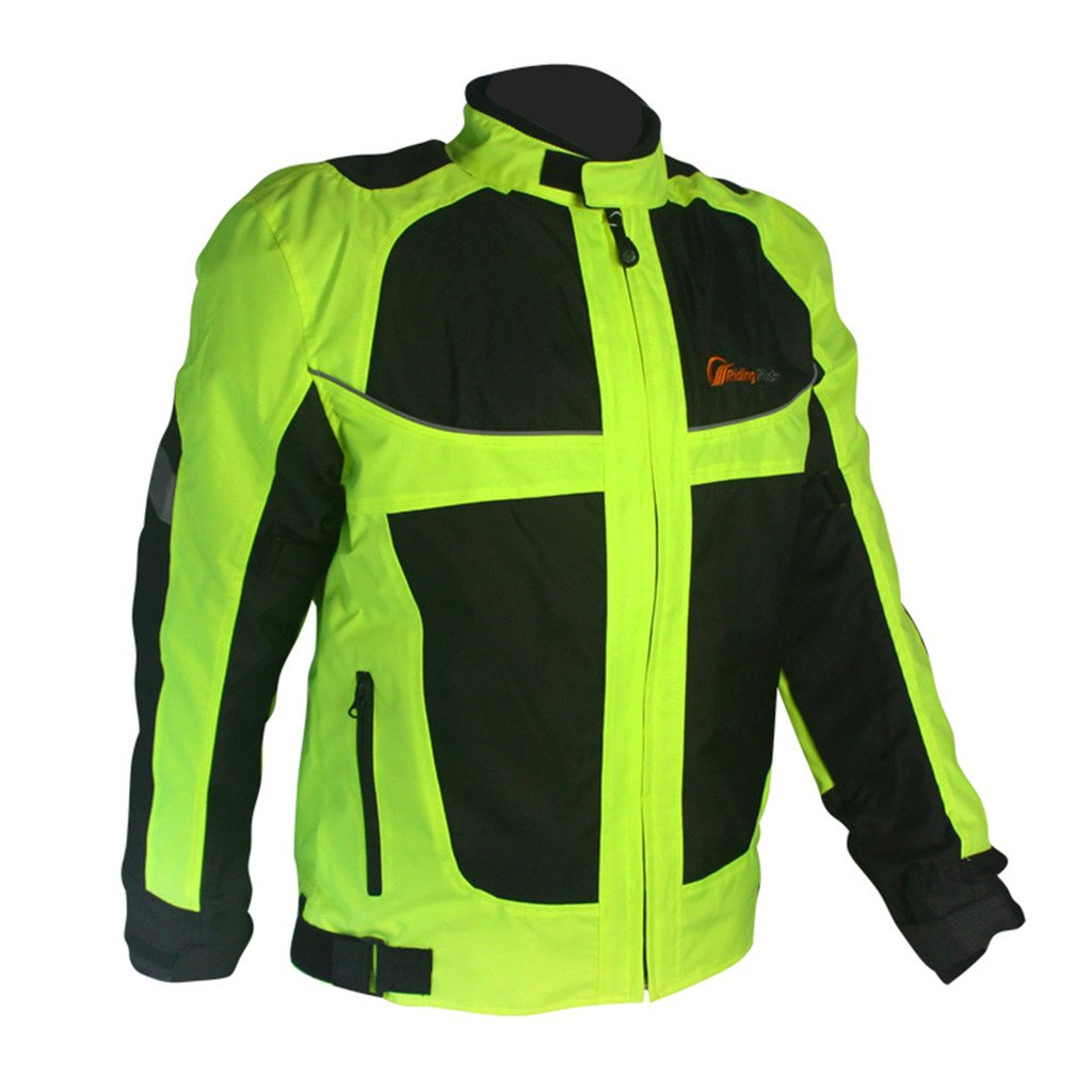 Jade Men's Outdoor Sports Motorcycle Cycling Auto Go Karts Racing Jacket Coat