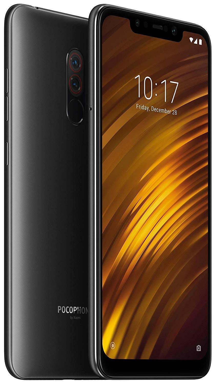 POCOPHONE F1 by Xiaomi - 6GB RAM and 64GB Storage (Dual Sim) - UK Sim-Free  Smartphone - 6 18-Inch Android 8 1 Oreo with - Graphite Black (Official UK