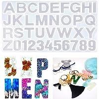 Números Letras Alfabeto Molde de silicona Molde