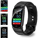 Montre Connectée, Bluetooth Montre Smartwatch Sports Smart Watch Con Carte Caméra SIM de Soutien et