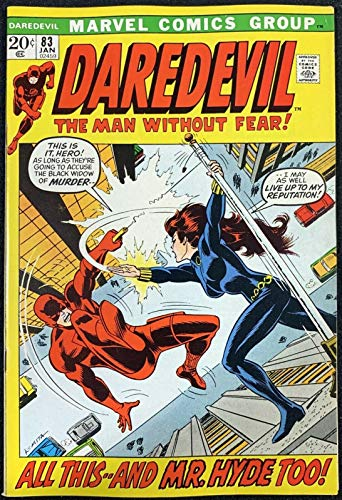 Daredevil (1964) #83 FN/VF (7.0) with Black Widow
