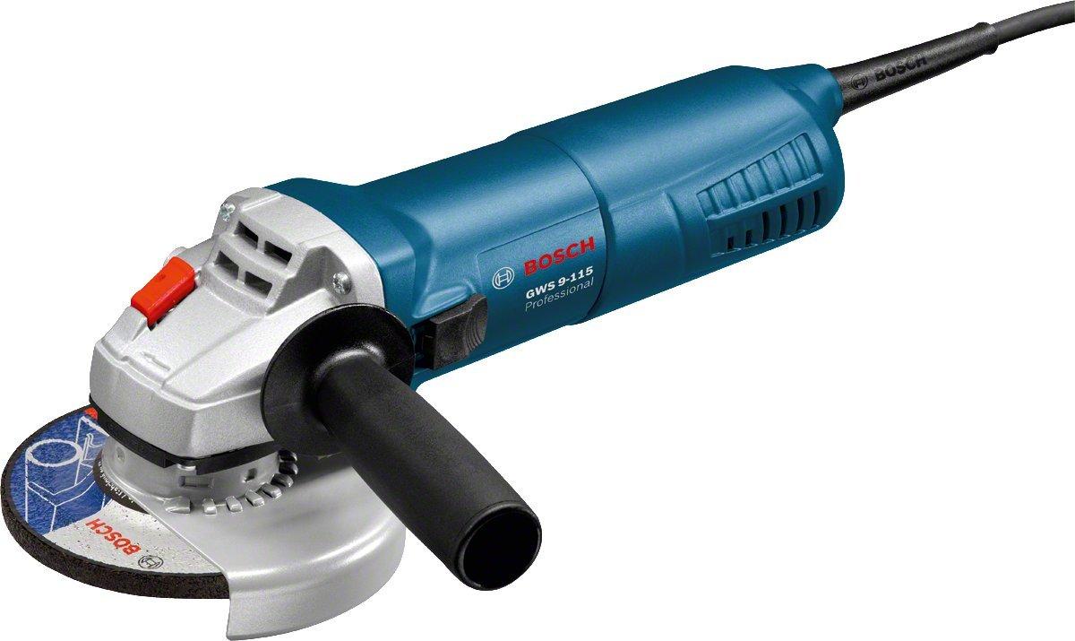 Bosch GWS 9-115 Professional 41/2' Angle Grinder 240V 0601790070