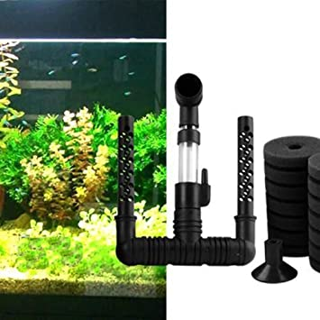 Basico Pecera bioquímica Bio Bio Esponja Filtro de Acuario para Peces Tanque decoración 15 * 14.5 * 4.5 cm: Amazon.es: Productos para mascotas