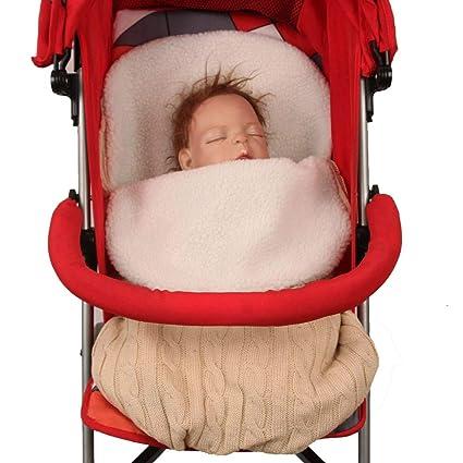 CHENYU - Saco de Dormir para bebé recién Nacido, cálido de Punto de Invierno,