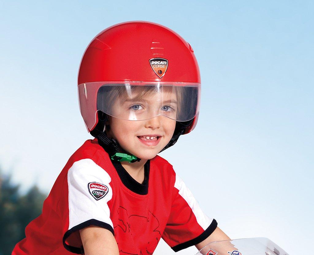 Peg Perego - Casco de juguete para niños, diseño Ducati: Amazon.es: Hogar