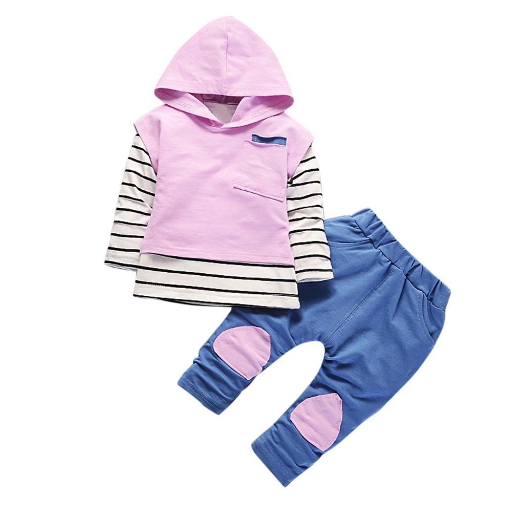 Conjunto de Bebé Unisex, Covermason Raya Camiseta y Encapuchado Chaleco y Pantalones Covermason-55