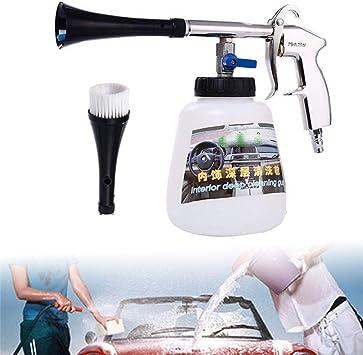 Druckluft Reinigungspistole Innenraum Fußmatten Waschpistole Tornado Effekt Kit