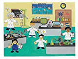 12 Design Your Own Science Lab Scientist Little Einsteins Jr Sticker Scenes Kids Children Play Set