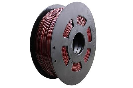 Impresora 3d 1 kg Filamento rollo PLA 1,75 mm en burdeos (B ...