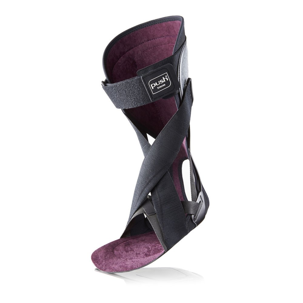 Push Ortho Ankle Foot Orthosis - AFO - for Drop Foot - Recreates Natural Gait (Left Size 1)