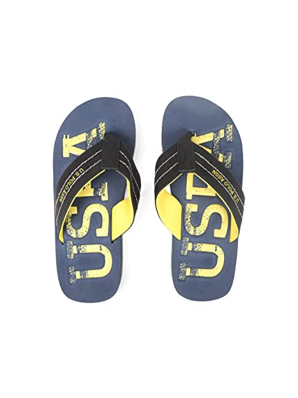 84d2c51c2e7bd5 U.S. Polo Assn. Navy Flip Flop  Buy Online at Low Prices in India ...