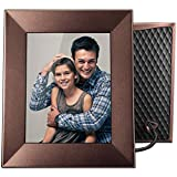 "Nixplay Iris 8"" Wi-Fi Cloud Frame (W08E- Burnished Bronze)"