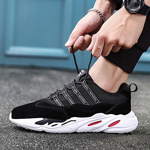 Color Movement Black Leisure and 3 Colors UK8 Running Feifei Men's Shoes Shoes Size EU42 Autumn CN43 Spring 5 xqwXAXWP7Y