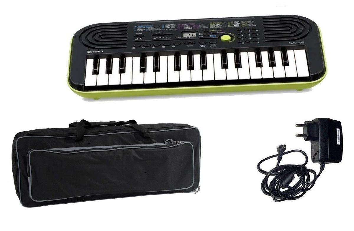 Casio Kids Pack sa46 teclado/bolso/Cargador Bundle: Amazon.es: Instrumentos musicales