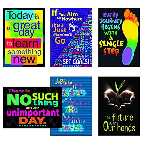 - Trend Enterprises Think & Inspire Argus Poster Combo Pack
