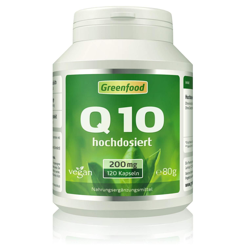 Greenfood Q10 Kapseln  Grün im Test
