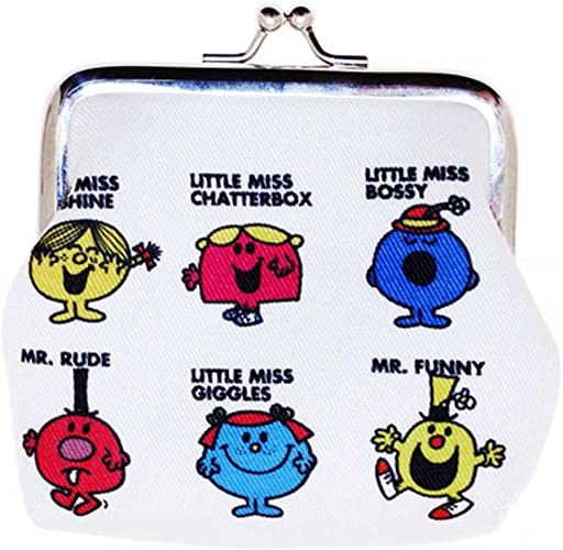 Zip Purse Gift Genuine Mr Men and Little Miss /'Little Miss Chatterbox/' Wallet