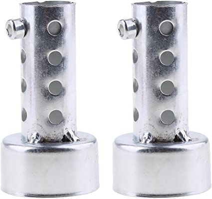Off Road v/éhicule HOMYY Bouclier Thermique Coque pour Pot d/échappement Moto en Alliage daluminium Anti-br/ûlure Isolation Thermique Coque Protection Talons pour Moto