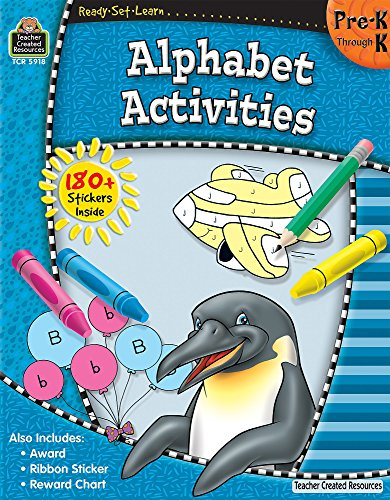 Ready-Set-Learn: Alphabet Activities PreK-K (Teacher Resource Book Material)
