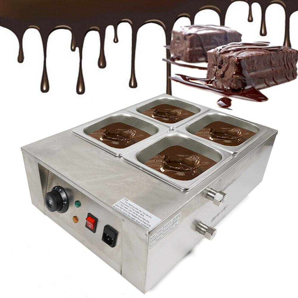 MOMOJA Temp/éreuse /À Chocolat Cuiseur Bain-Marie /Électrique pour Chocolat 1000 W