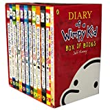 Diary of a Wimpy Kid 12 Books Complete Collection Set Box of Books NEW 2018 Edition