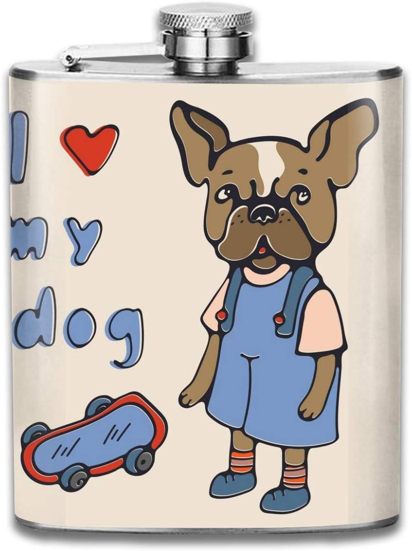 Amo a mi perro con regalo de bulldog francés para hombres ...