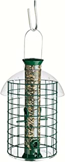 product image for Droll Yankee Sunflower Domed Cage Feeder Green 15 Inch - SDC