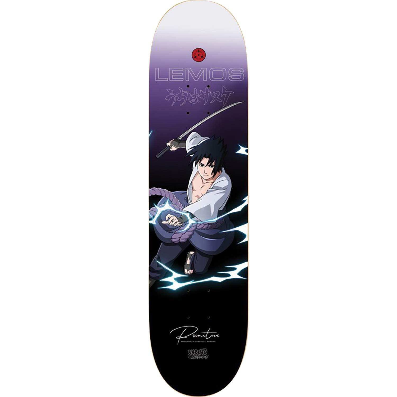 8.12 x 31.625 Primitive Skateboarding Tiago Lemos Naruto Sasuke Skateboard Deck