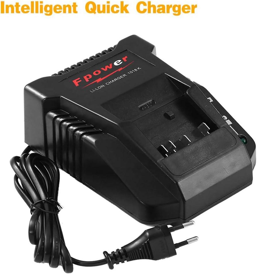 18V Li-Ion BAT609G BAT618 BAT618G BAT610G BAT609 2607336236 Chargeur Chargeur 1018K 3.0A pour Perceuse Bosch Batterie 14.4V