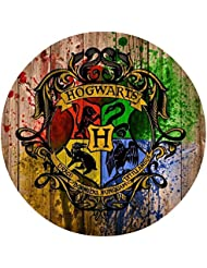 Harry Potter Hogwarts Edible Image Photo 8 Round Cake Topper Sheet Personalized Custom Customized Birthday Party