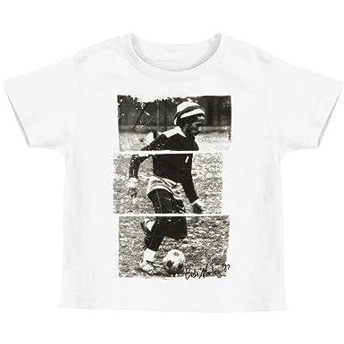 0df764f62 Amazon.com  Bob Marley Boys  Soccer  77 Childrens T-shirt White ...