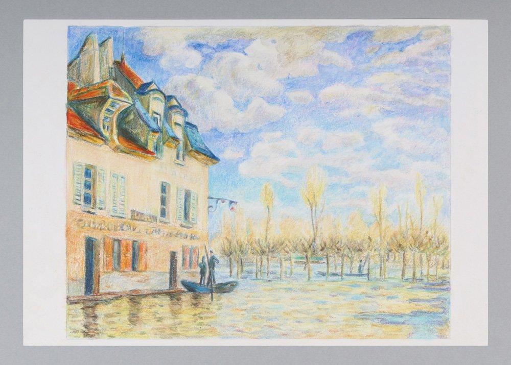 VAN GOGH Pencil 60 colored pencil Metal Case by Van Gogh (Image #7)
