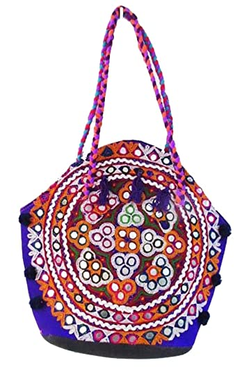 8813800578b3 Image Unavailable. Image not available for. Color  Indian Wholesale 50 pc  lot Bulk Mandala Hand Bag Ethnic Clutches ...