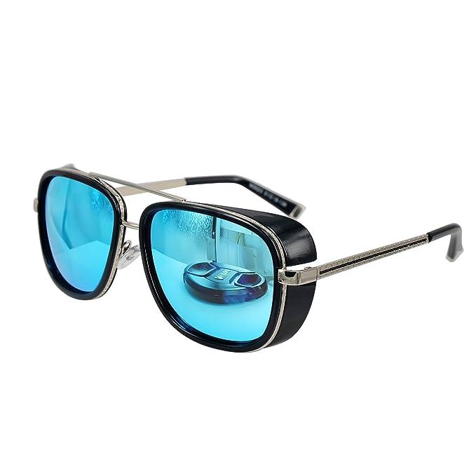 Protecciones Laterales Retro de Unisex Steampunk gafas de ...