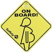"Safety 1st 33110012 - Cartel de embarazada ""a"