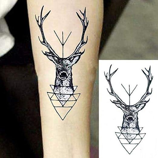 Handaxian 3pcsHighquality Nuevo Tatuaje Femenino Indio a Prueba de ...