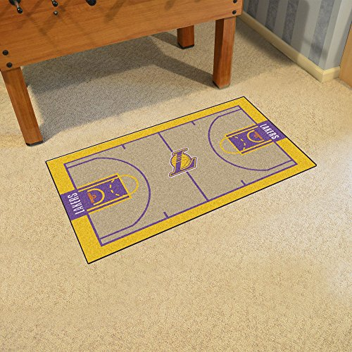 Los Angeles Lakers NBA Large Court Runner