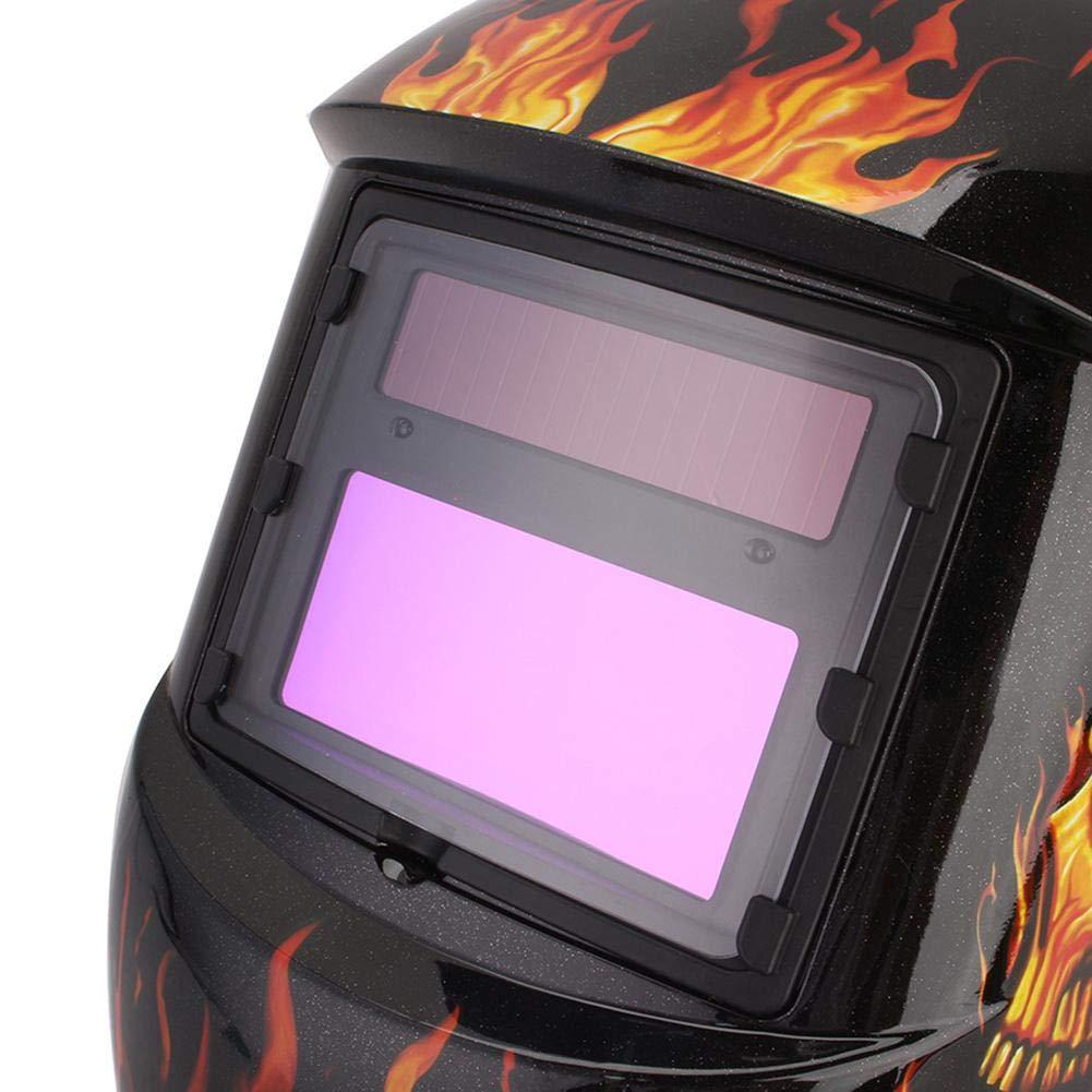 Careta Soldar Automatica,Casco Solar de Soldadura de Oscurecimiento M/áscara de Soldadores Caretas para M/áscara de Soldador