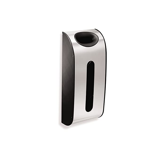 simplehuman Wall Mount Grocery Bag Dispenser, ...