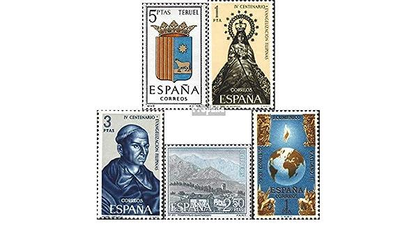 Prophila Collection España Michel.-No..: 1586,1587,1588,1589,1590 (Completa.edición.) 1966 Escudo de UnrmUns, Consejo u.Un. (Sellos para los coleccionistas): Amazon.es: Juguetes y juegos