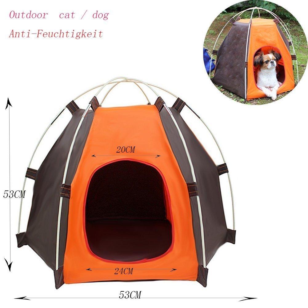 Cabañas en exteriores Cachorro Parque plegable para pequeño perro ...