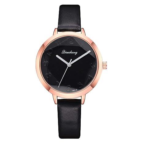 Amazon.com: naivety - Reloj de pulsera de cuarzo para mujer ...