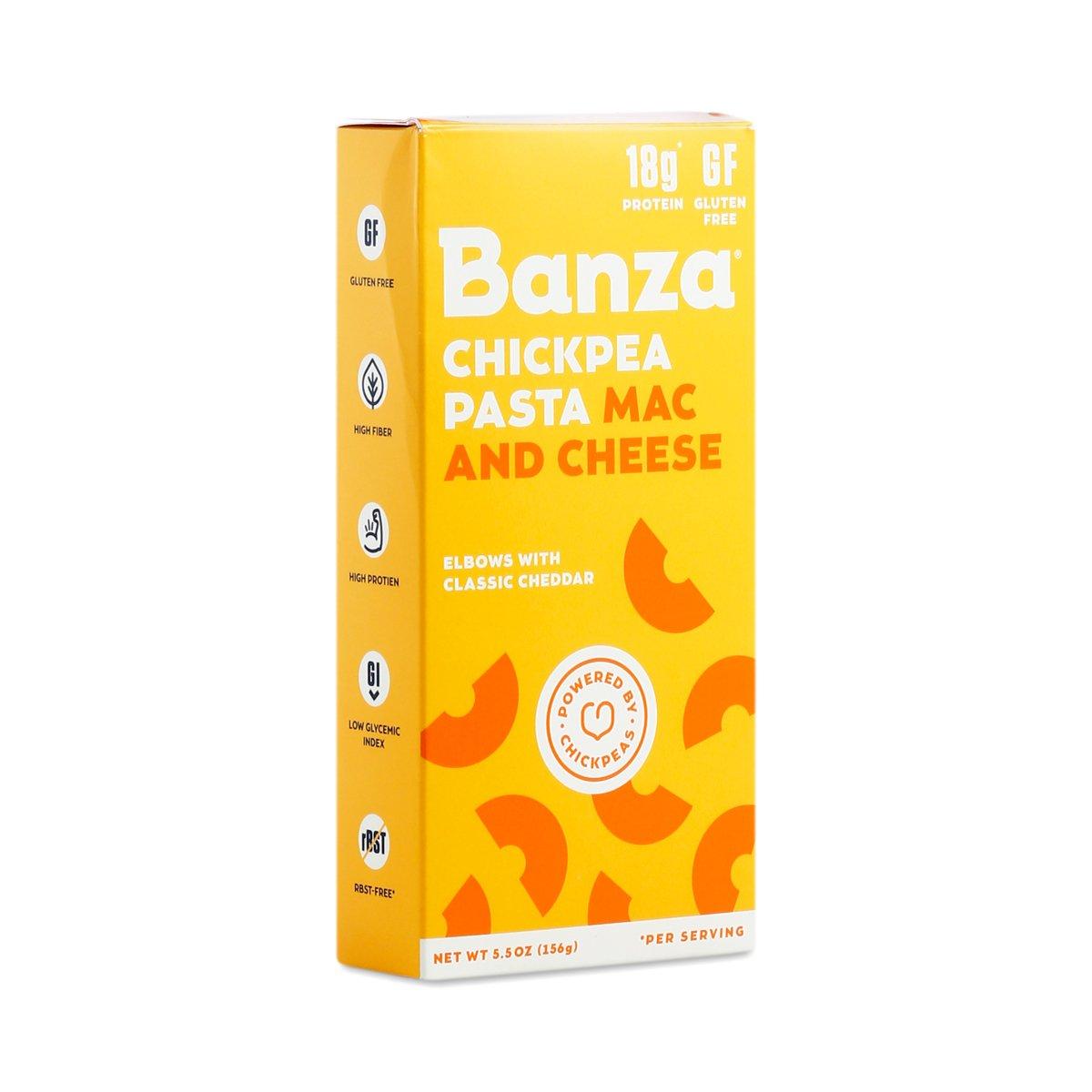 Banza Mac And Chs Chickpea Chdr