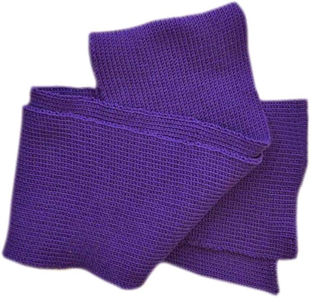 Scarf 100/% MERINO WOOL adult unisex men women knitted warm
