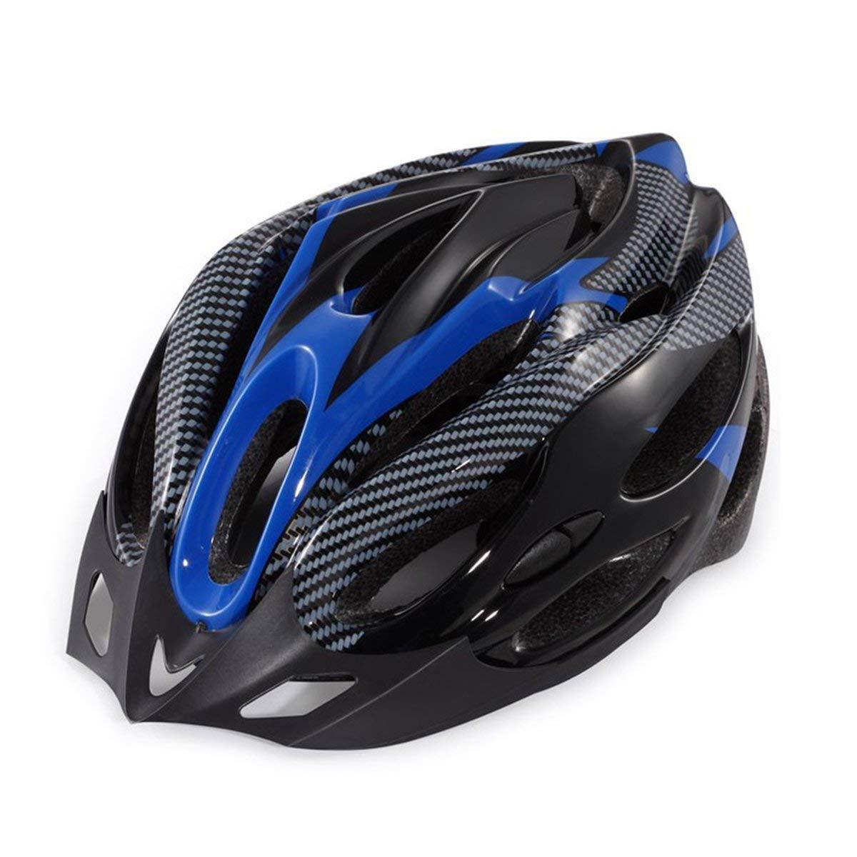 Gugutogo Casco Protettivo da Bici per Bicicletta Integrato Modanatura Esterna Equipaggiamento Sportivo Esterno Calotta Esterna con Schiuma Antiurto Nero Giallo
