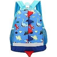 MOREBEST Kids Backpacks Dinosaurs School Bags for 1-5 Years Old Nursery Toddler Kindergarten Boys and Girls Blue
