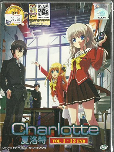 Charlotte   Complete Tv Series Dvd Box Set   1 13 Episodes