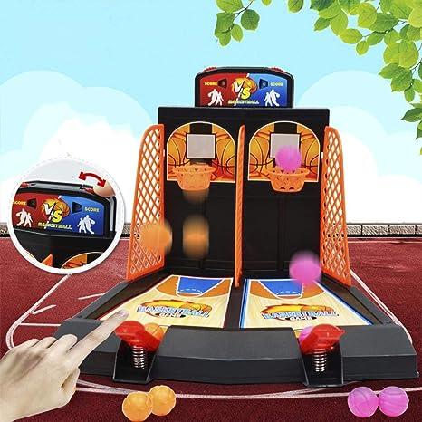 Starter Mini de baloncesto de mesa – Baloncesto de Juego de los Padres de Familia de niño de juguete, Sport habitaciones juguete Baloncesto Máquina de, Relajante juguete Oficina: Amazon.es: Bebé