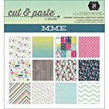 My Minds Eye Cut and Paste Paper Pad, 6 by 6-Inch, Adorbs